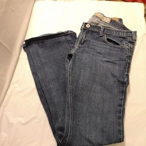 Hollister Venice Boot Blue Jeans Size 5s Stretch